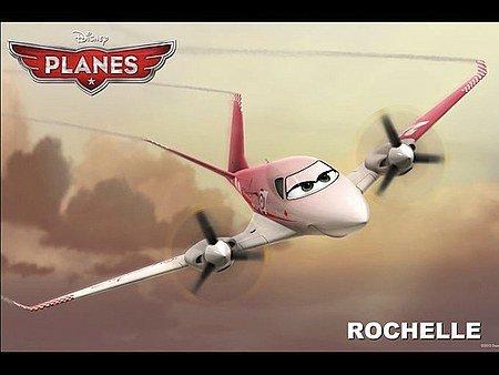Самолеты. Характер-постеры