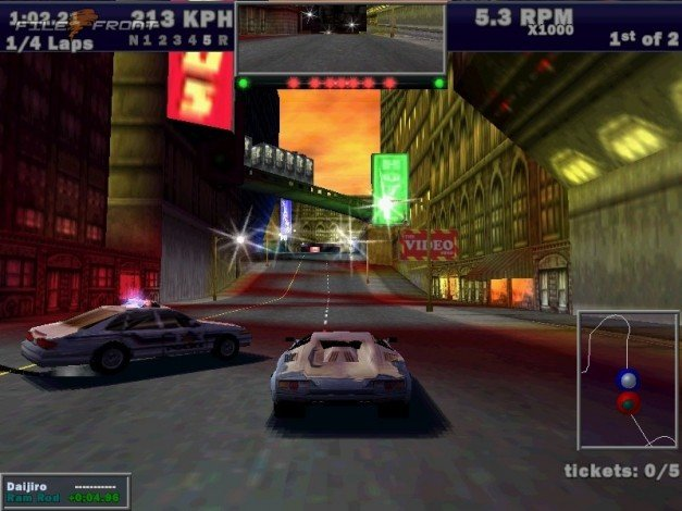 Скриншот из игры Need for Speed 3: Hot Pursuit