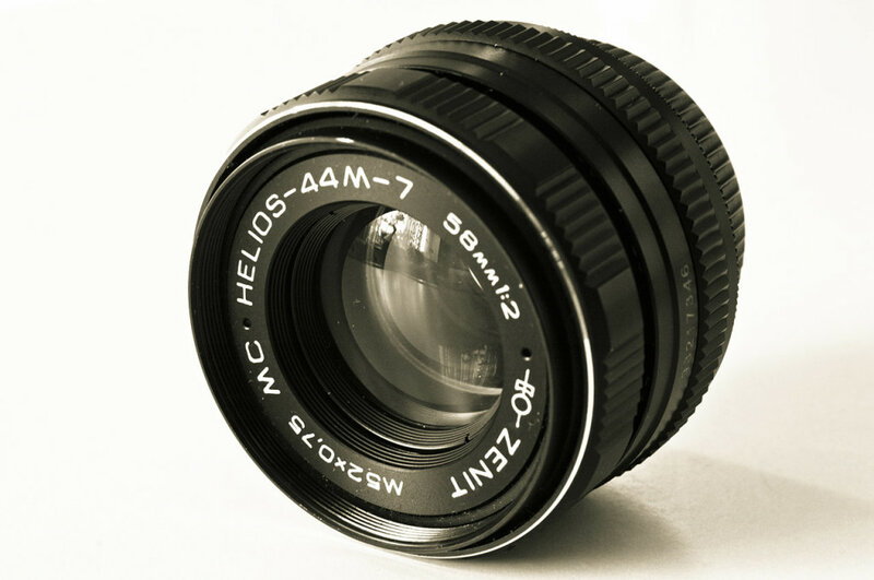 Старые объективы на новых камерах Nikon Helios-44m-7
