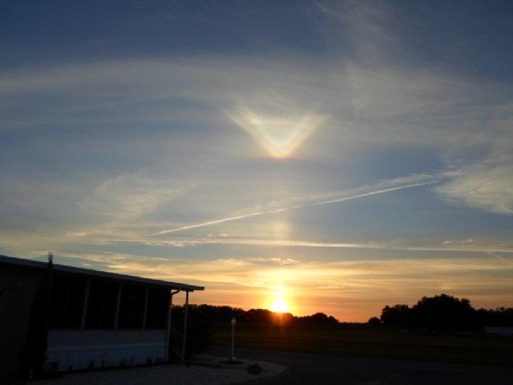 Тайны Планеты: Необычное солнечное гало во Флориде