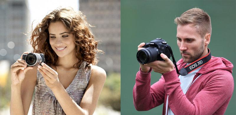 Зеркальная или беззеркальная камера? Что подойдет именно тебе? | Блог Photopoint
