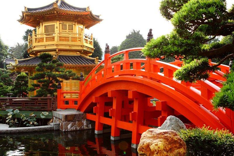 Женский монастырь Чи Лин и Сад Нан Лиан в Гонконге