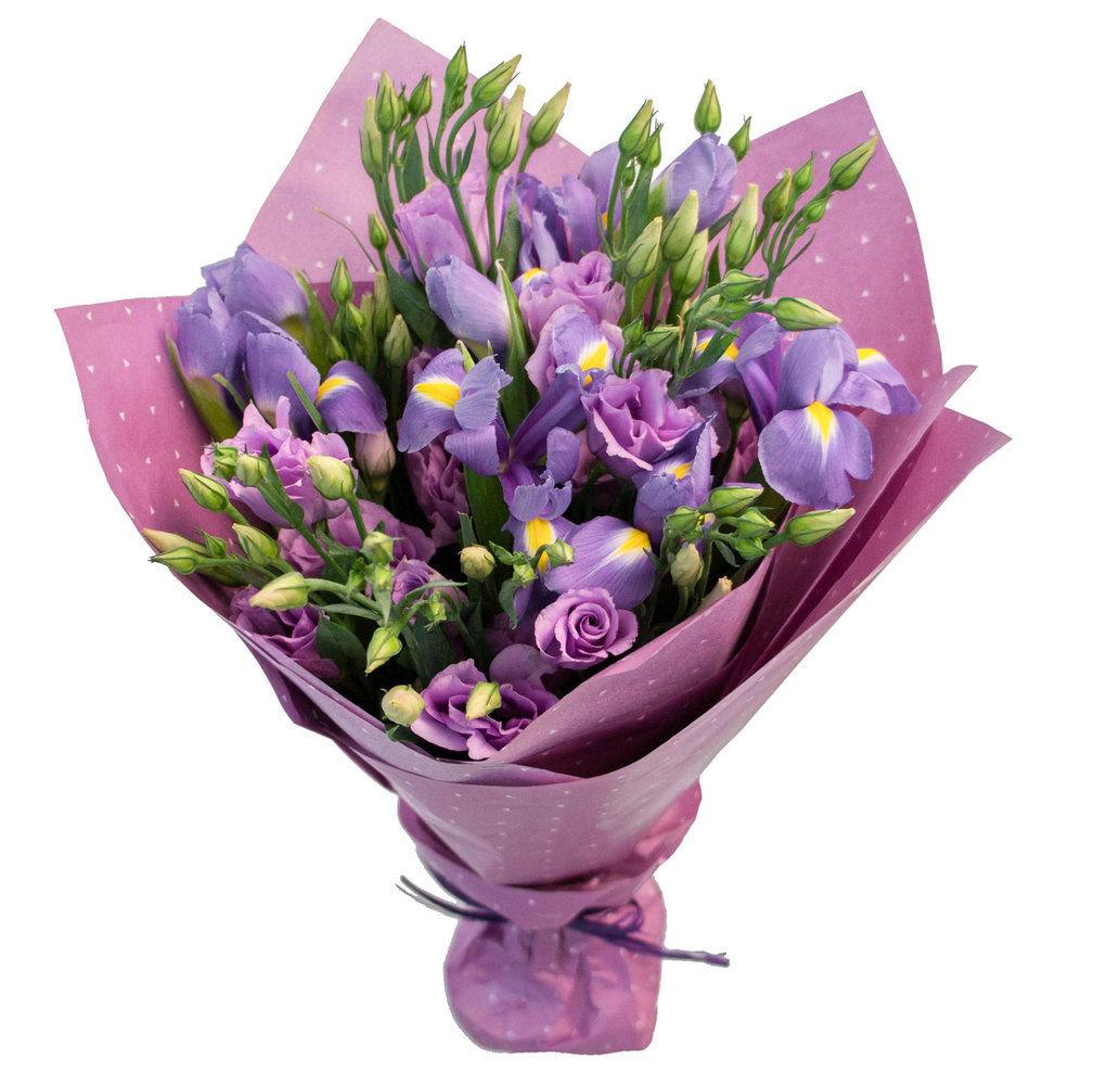 Доставка цветов-сирень тюльпанов