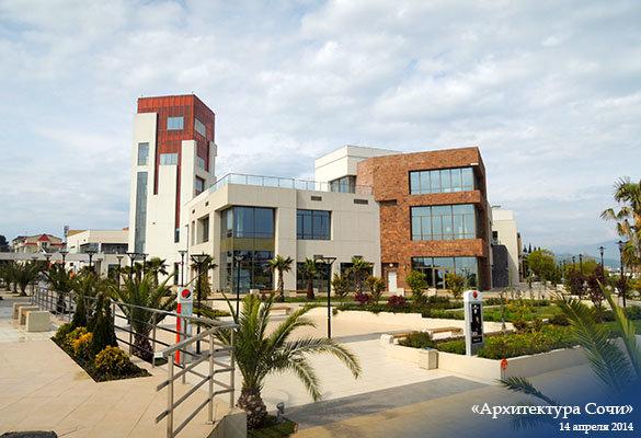 Торгово-развлекательный комплекс «Мандарин» в Адлере