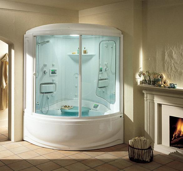 Ванна совмещенная с душевой кабиной