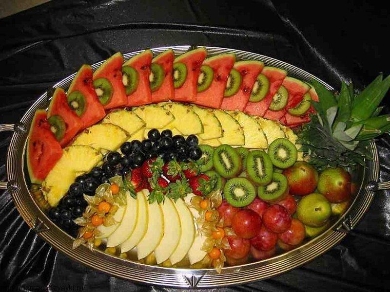 фрукты на праздничный стол рецепты с фото