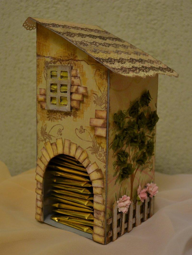 поделки чайных домиков
