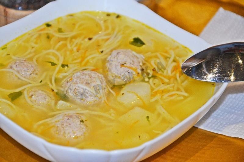 Вкусный суп с тефтелями рецепт с фото