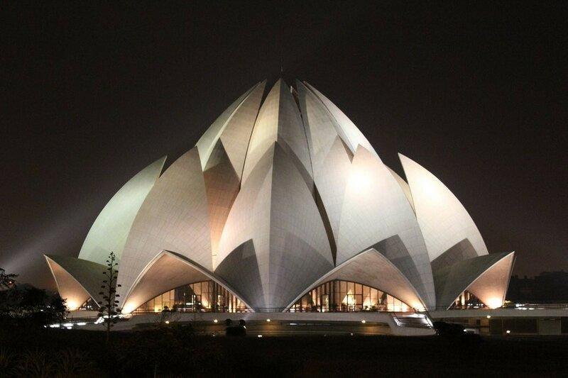 храм Лотос, Дели,Индия