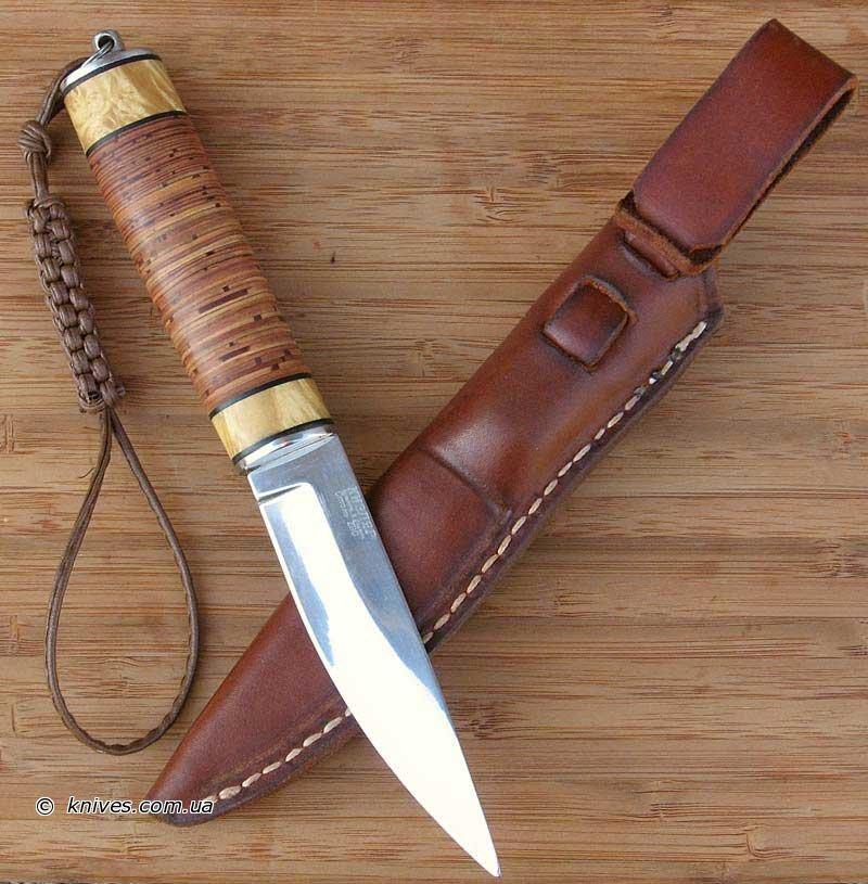 встречаются такие рукоять ножа из кожи как делать счастье