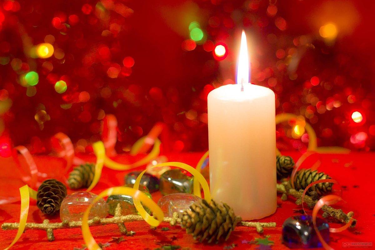 сибирская как картинки с новогодними свечами светила прямо