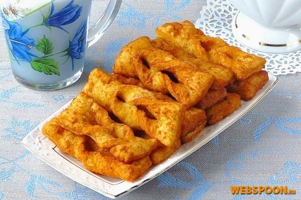 картофельный хворост рецепт с фото