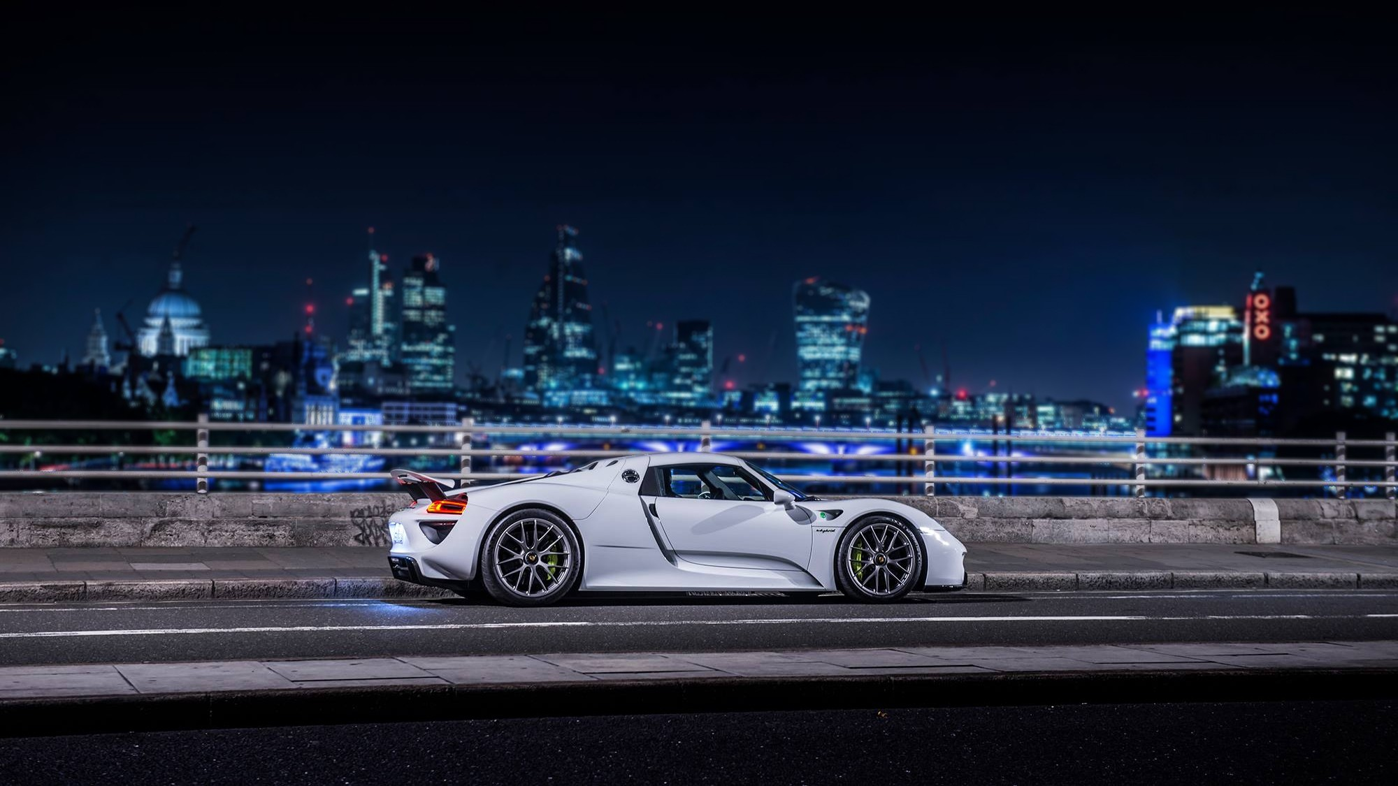 "Ночной porsche 918 spyder"" — card from user anastasiafm in yandex"
