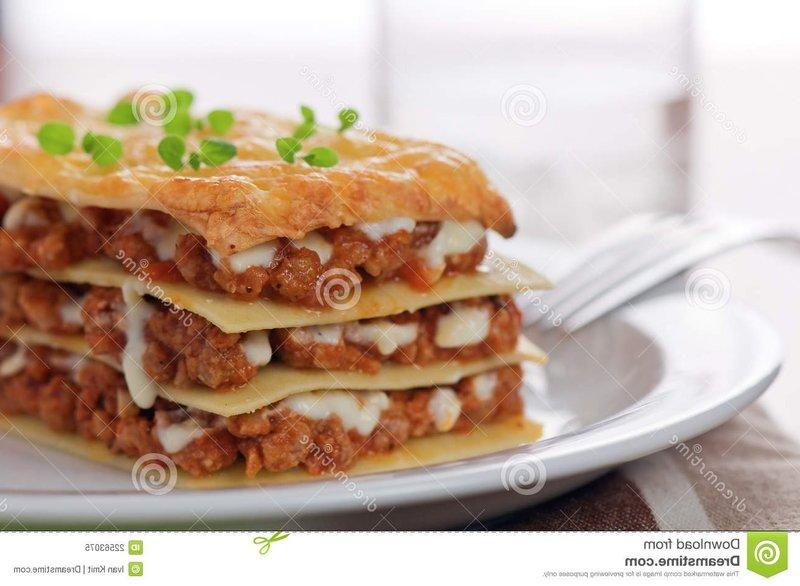 Лазанья без духовки рецепт с фото