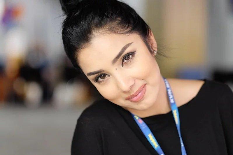 Красивые фотомодели узбекистана