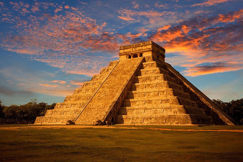 Пирамида Кукулькана . Мексика