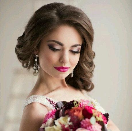 Яркий макияж - для яркой невесты 15