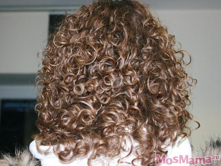 Биозавивка волос крупными локонами: фото и видео завитков