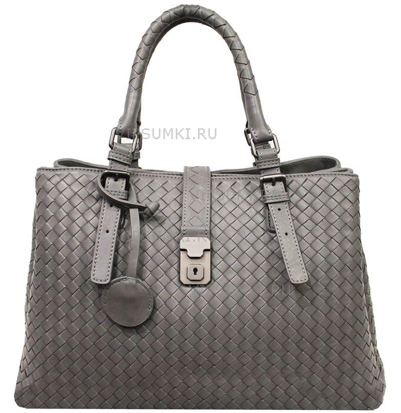 Bottega Veneta Intrecciato Light Calf Roma Bag / Купить в интернет-магазине сумок VipSumki