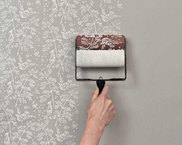 Декор стен своими руками - 61 фото, виды декорирования, бабочками, в спальне, гостиной, детской, прихожей, тканью, под кирпич, фотографиями, видео