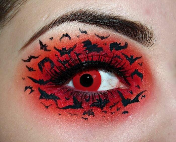 Фантазийный макияж (19 фото) » LolGirl : Первый женский развлекательный сайт