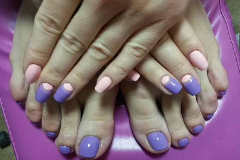 Фото педикюр 2015 - 2016. Студия маникюра Beautiful Nails.