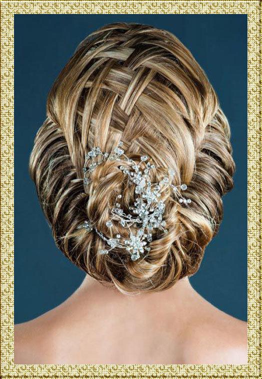 Фото свадебных причесок с косами