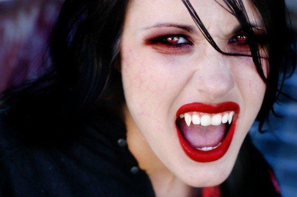 Грим вампира