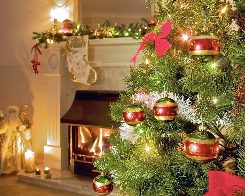 Идеи новогоднего декора интерьера своими руками