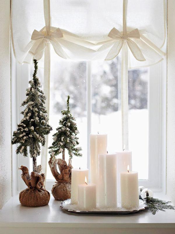 Идеи оформления новогодних свечей - Фото Креатив