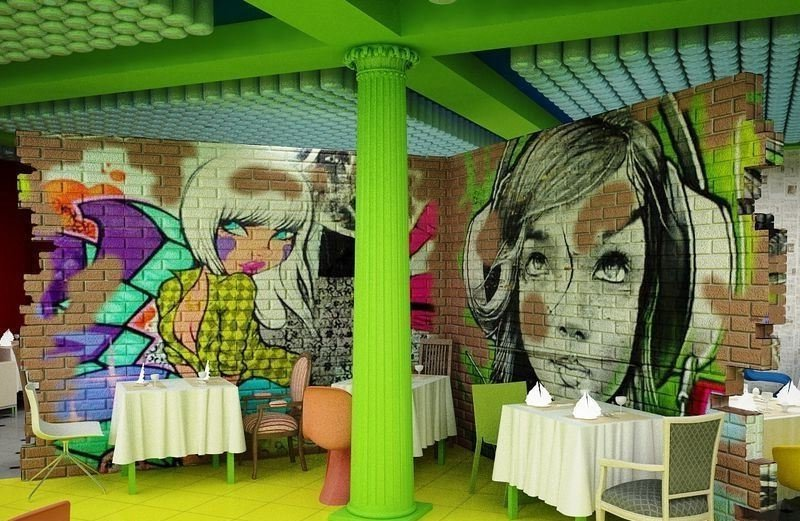 Интерьеры в стиле китч. 50 дизайнерских вариантов - Сундук идей для вашего дома - интерьеры, дома, дизайнерские вещи для дома