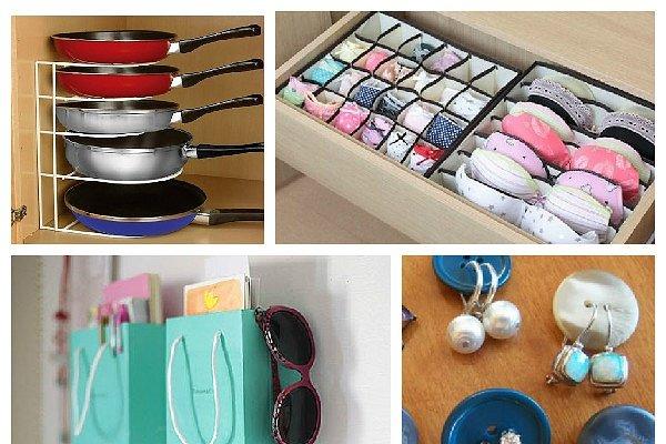 Интересные идеи для хранения вещей (фото)