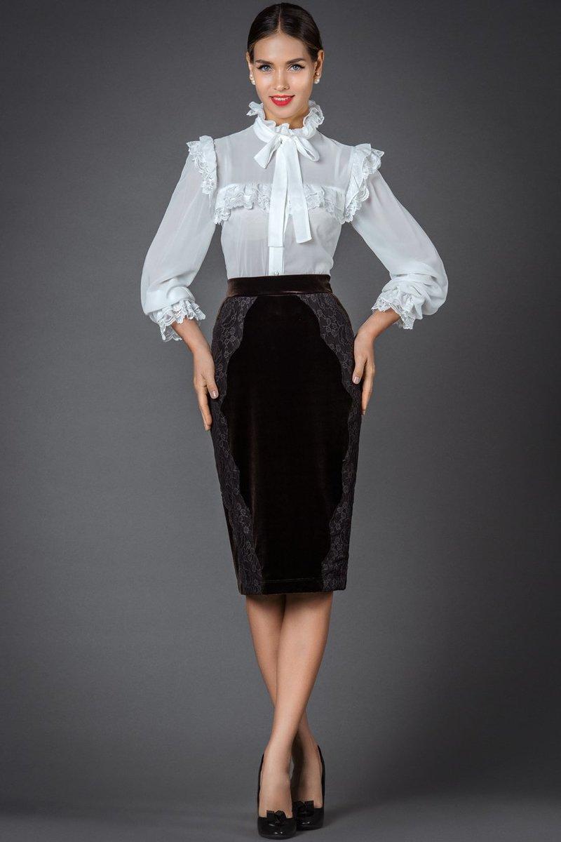 Юбка Бабетта РЮ-103-2448 - женская одежда оптом от интернет магазина Арт Деко