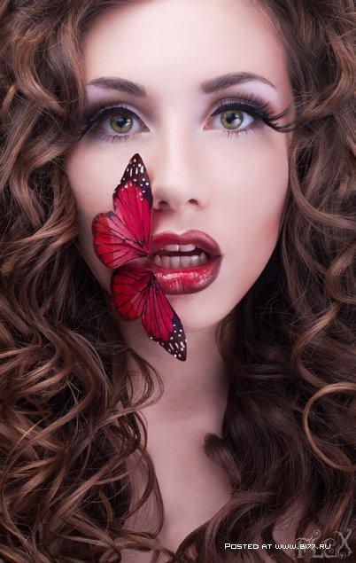 Как красиво накрасить губы | LadyLama