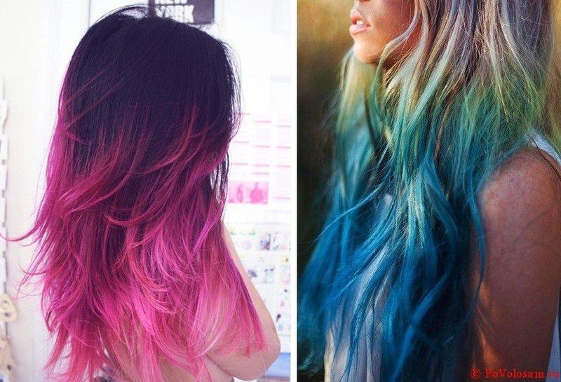 Как покрасить волосы пастелью: фото до и после и видео инструкции