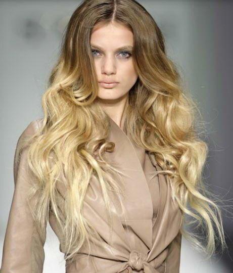 Классика окрашивания OMBRE для блондинок