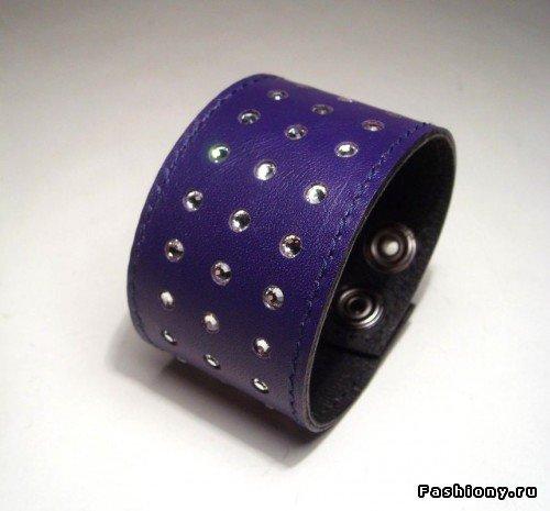 Кожаные браслеты / кожаные браслеты своими руками