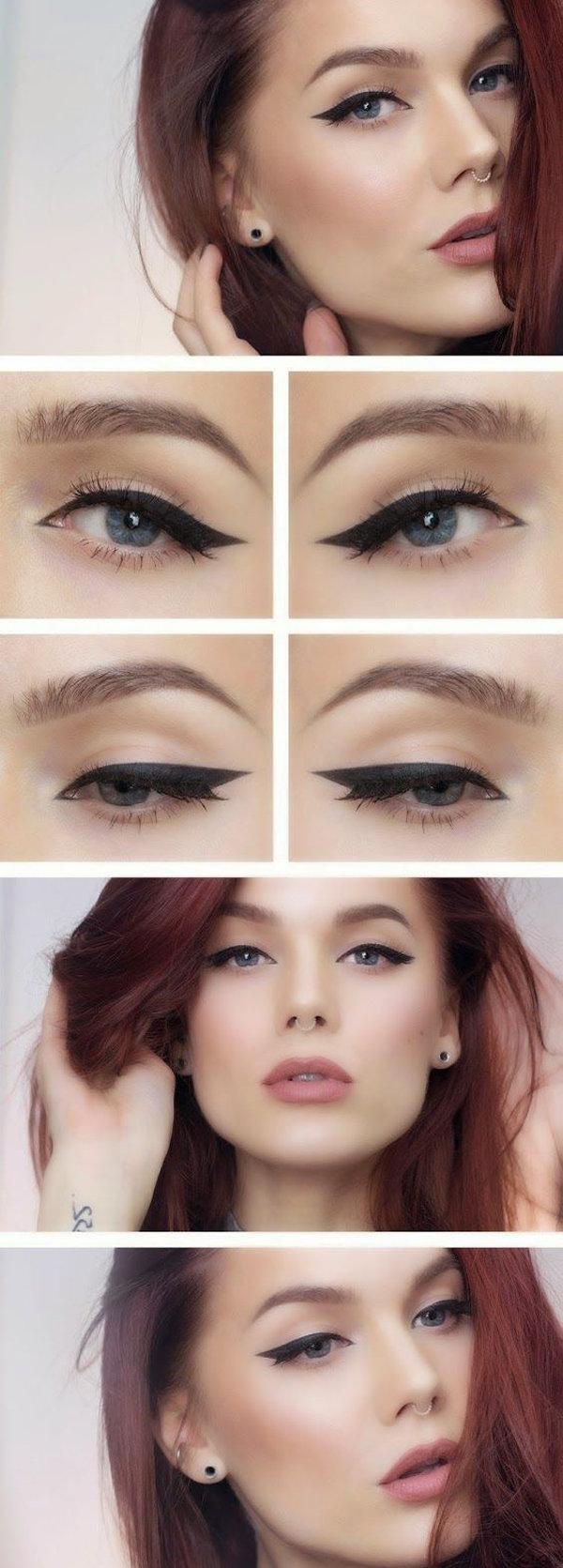 красивый макияж глаз пошагово