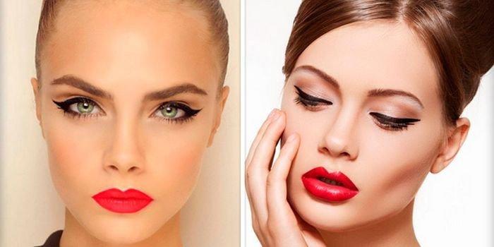 Красивый макияж со стрелками: дневной, вечерний фото, видео. Свадебный макияж со стрелками пошагово - allWomens