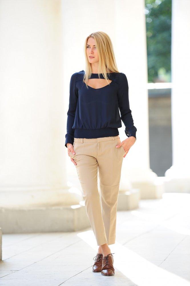 Купить блуза DLV0002bl_blue рубашки и блузки, заказать блуза DLV0002bl_blue Украина: цена фото отзывы доставка оптом и розницу - интернет магазин одежды dilvin.com.ua