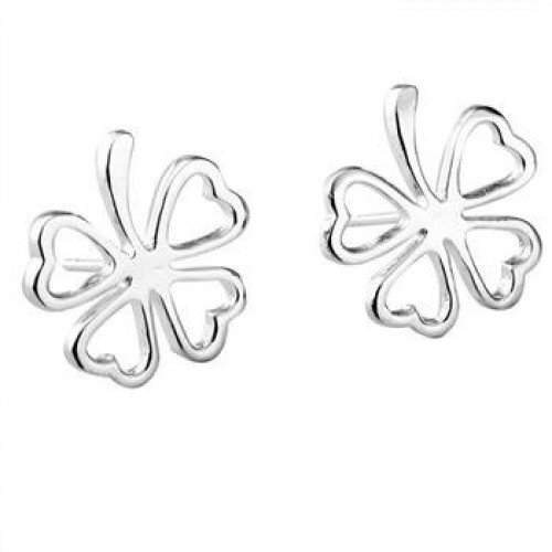 Купить Tiffany Clover Серьги из стерлингового серебра 925 пробы .