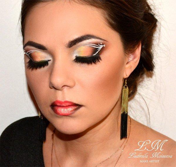 курсы визаж. Приглашаем научиться карандашной технике в макияже и воплотить свои фантазии. | Макияж глаз