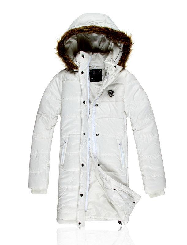 Куртка женская AMERICAN EAGLE артикул AEJW-003 | Цена 9200 | Материал: полиэстер | Цвет : Белый