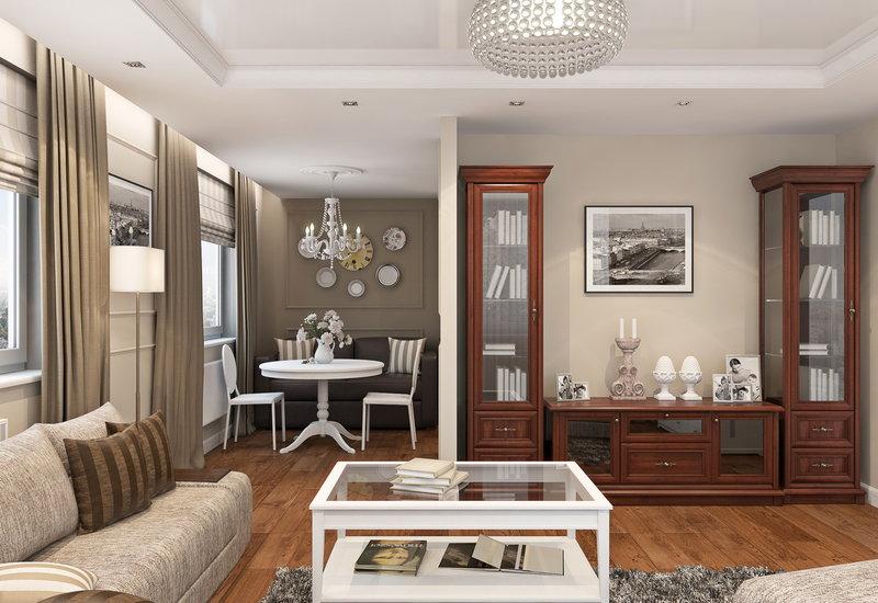 мебель для гостиной цвет