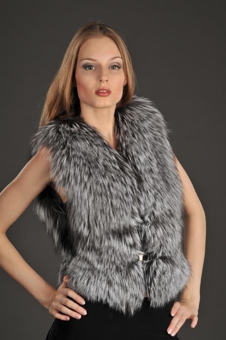 Меховые жилетки для модниц. 205 фотографий. | Блог для ЖЕНЩИН