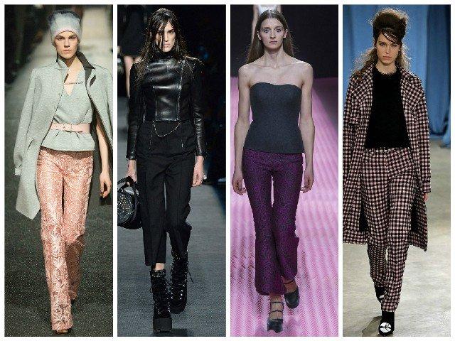 Модные брюки сезона осень-зима 2015-2016