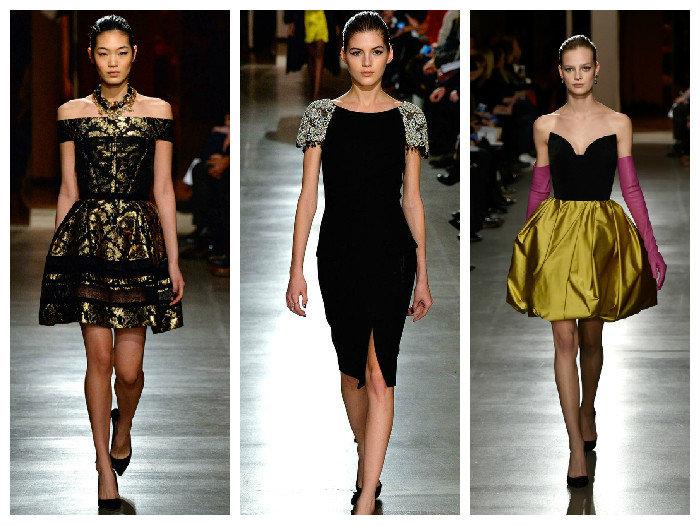 Модные котейльные платья Oscar de la Renta