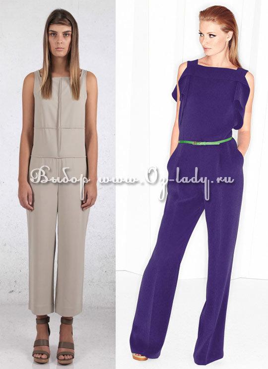 модные модели комбинезонов весна 2015