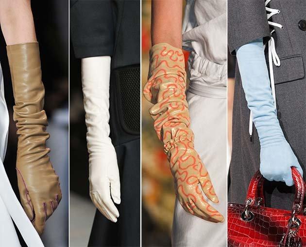 модные перчатки 2015