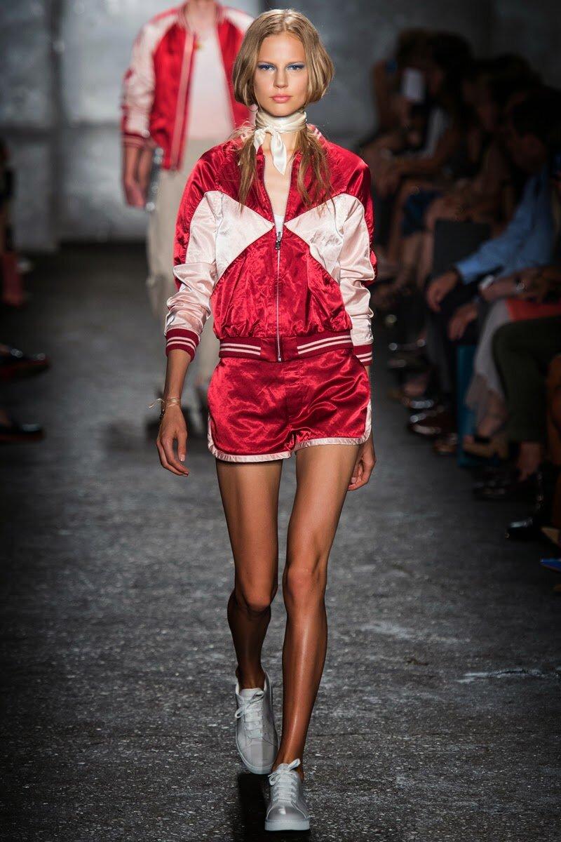 Модные шорты весна-лето 2014 - фото